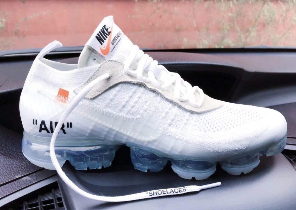Off White x Nike Vapormax White  preview