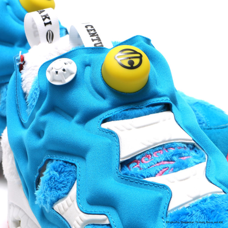 Packer Shoes x Atmos x Reebok Insta Pump Fury Doraemon