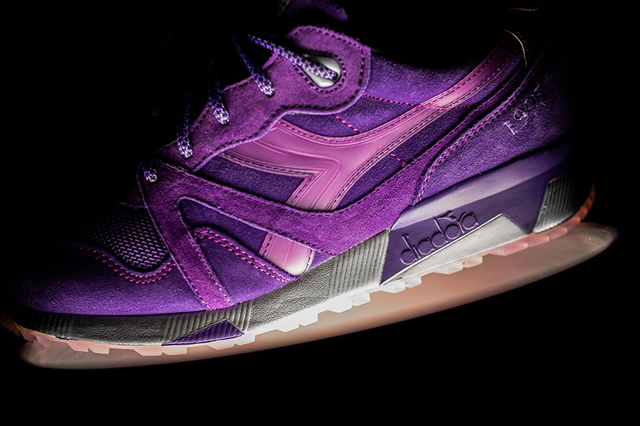 "PACKER SHOES x DIADORA N.9000 ""PURPLE TAPE"""