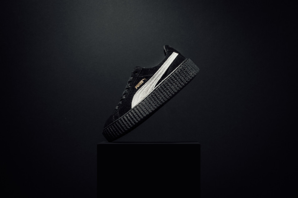 Premiere images de la collection Rihanna x PUMA Suede Creepers