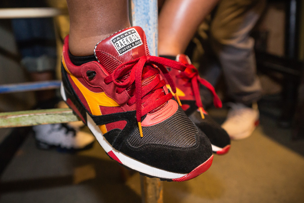 Raekwon and Packer Shoes Have Another Diadora Collab