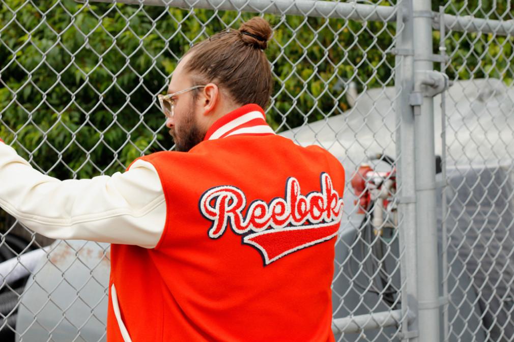 reebok Maison Kitsune  Automne:Hiver 2015 -  Baseball Jacket