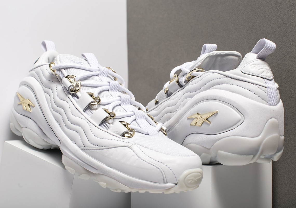 Reebok DMX Run 10 White and Gold