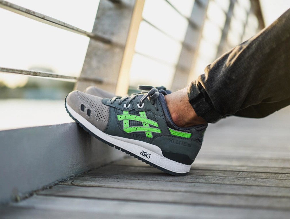 Joe Ayu - asics Gel Lyte 3 Super Green