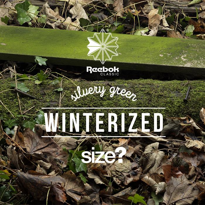 size? x Reebok 'Silvery Green' Winterised Pack