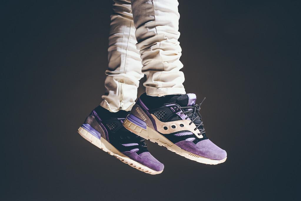 Sneaker Freaker x Saucony Grid SD - Kushwacker