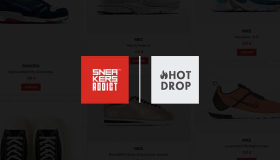 Sneakers Addict™ lance HotDrop