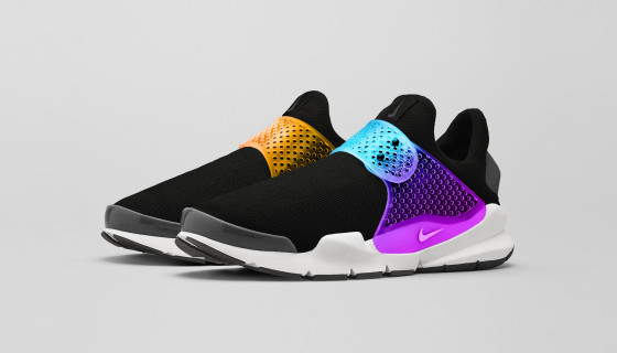 "Fragment Design x Nike Sock Dart ""Black Grape"""