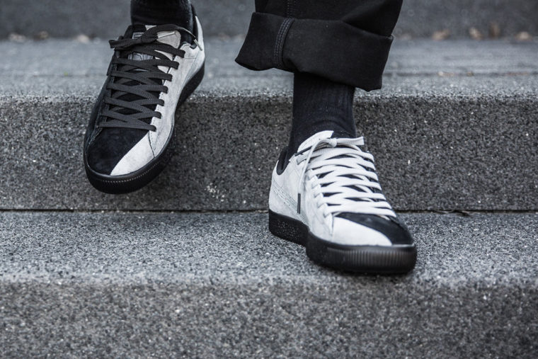 Staple x Puma Clyde Black White