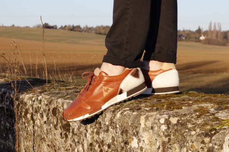 Starcow x Le Coq Sportif Omega OG MIF Leather Brown