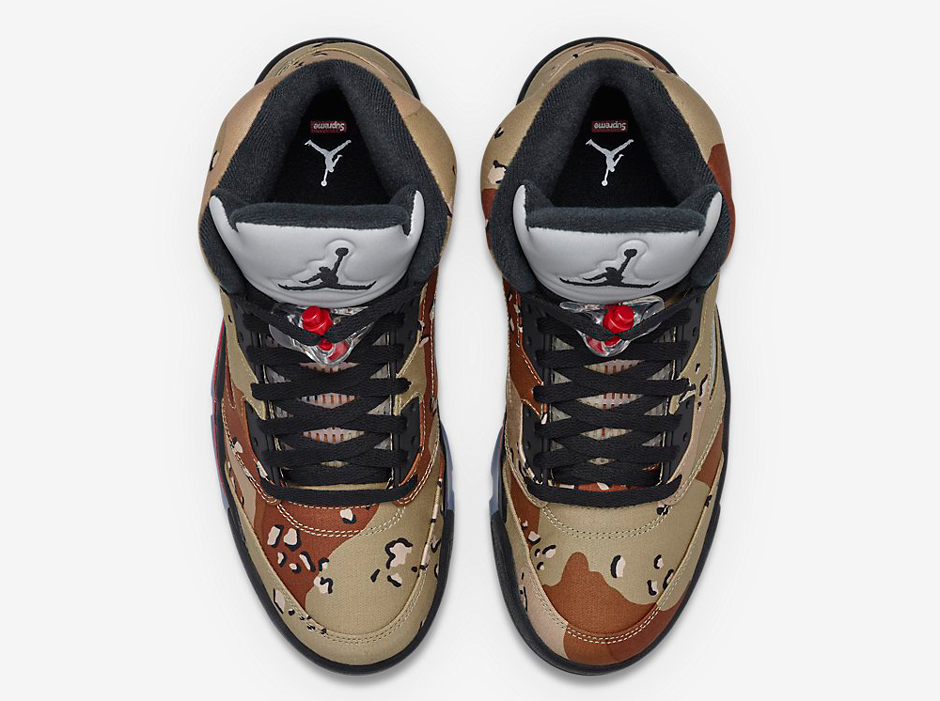 9a3718545a06cb Supreme x Air Jordan 5