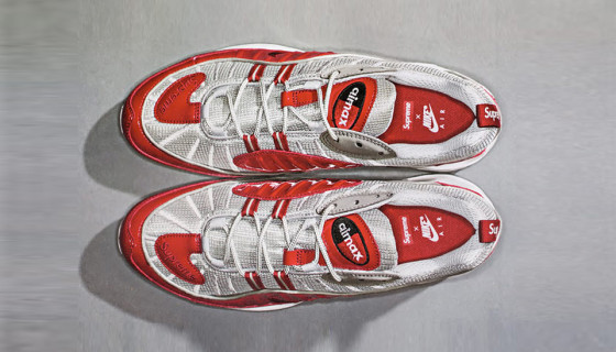 Supreme x NikeLab Air Max 98 Red