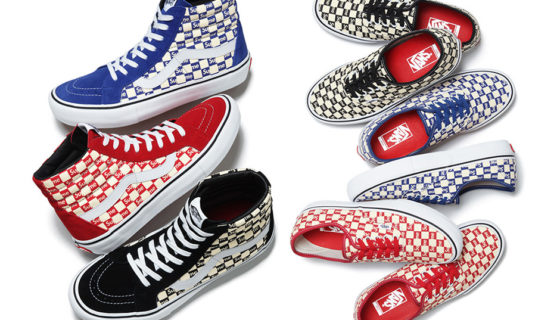 Supreme x Vans SK8-Hi & Authentic