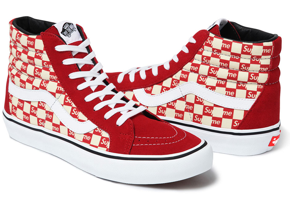supreme x vans sk8-hi authentic 2016