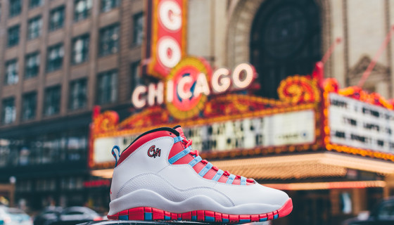 "Air Jordan 10 Chicago ""City Pack Tour"""