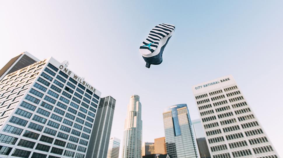 Air Jordan 10 Los Angeles