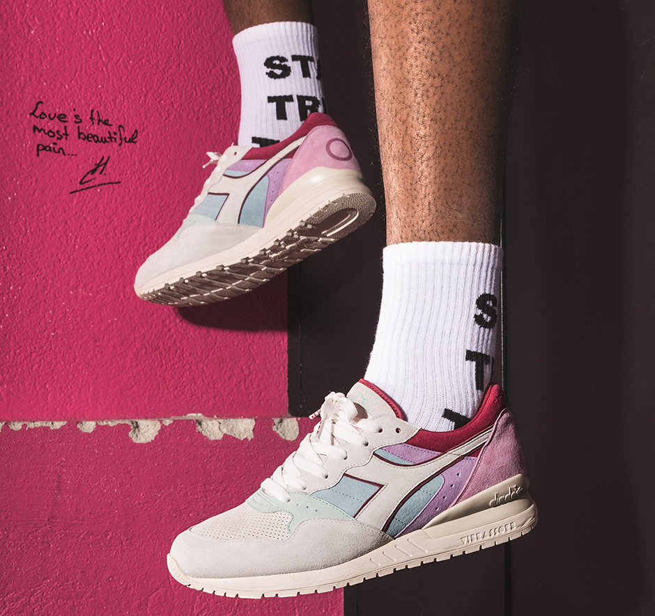 Titolo x Diadora Intrepid Five Almonds