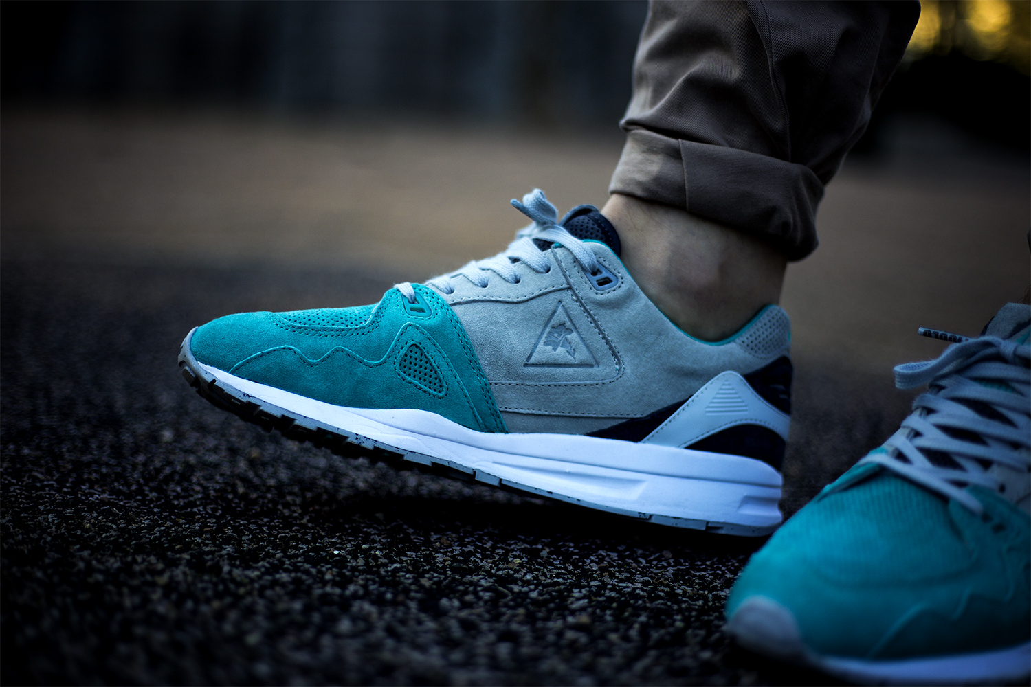 titolo x le coq sportif r1000 glacial melt details. Black Bedroom Furniture Sets. Home Design Ideas