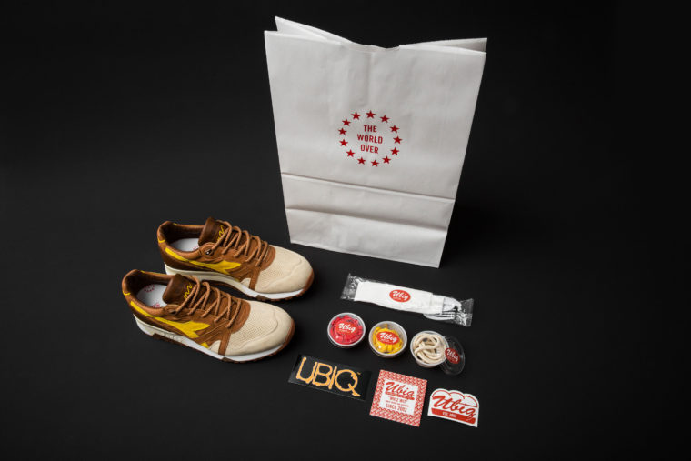 Ubiq x Diadora N9000 Cheesesteaks