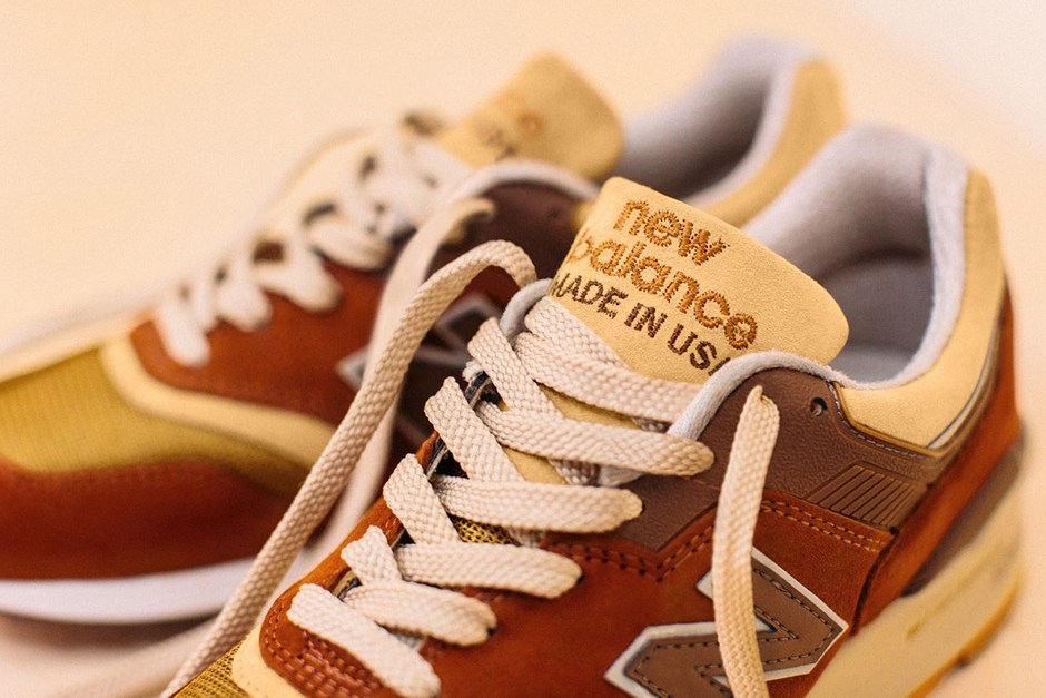J.crew x New Balance 997 Butterscotch