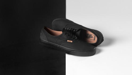 Vans CA Mono Leather Era Decon 'Black/Rubber'
