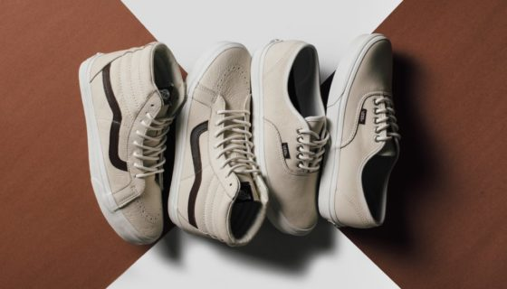 Vans Leather Blanc de Blanc Pack