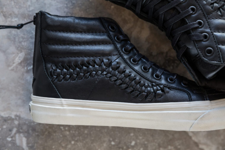 Vans Woven Leather Collection