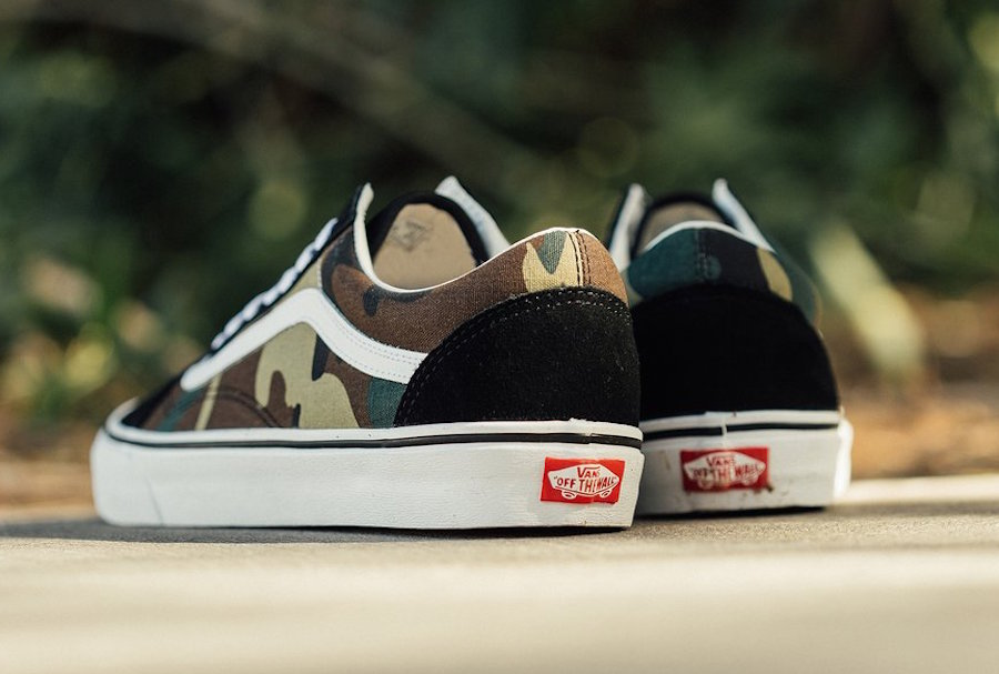 Vans Old Skool Woodland Camo