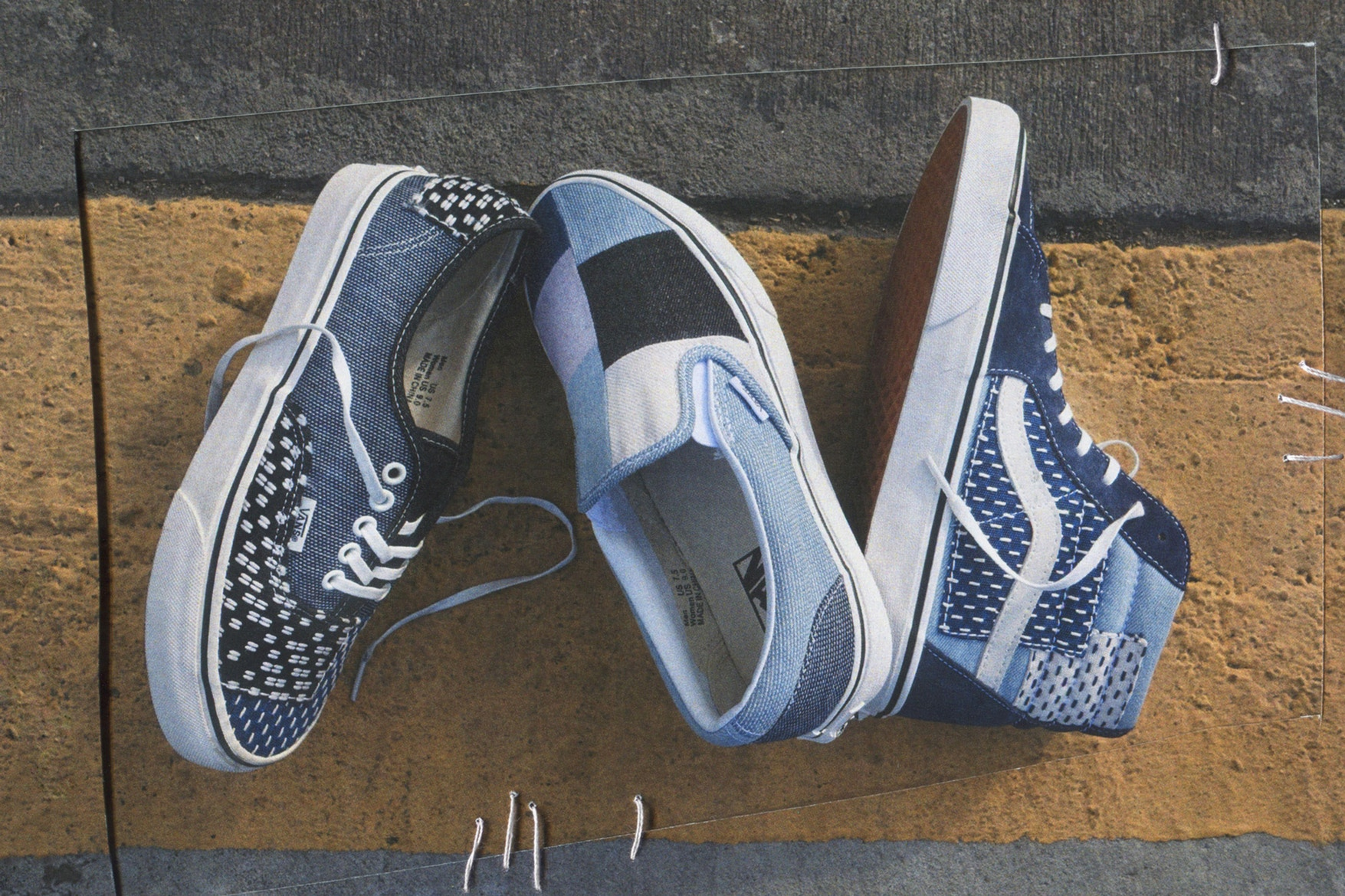 Vans Patchwork Denim Pack