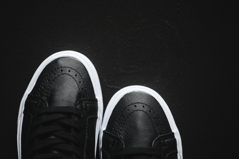 "Vans SK8-Hi Reissue Premium Leather ""Black/White"""
