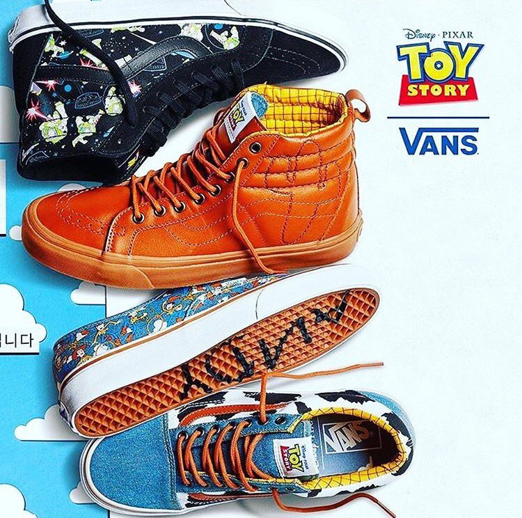 Vans Toy Story Pas Cher