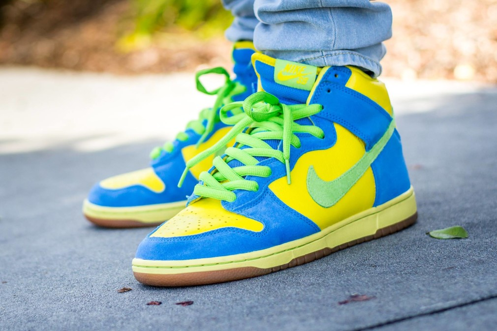 verse001 - Anthony Levine - Nike SB Dunk High Marge Simpson