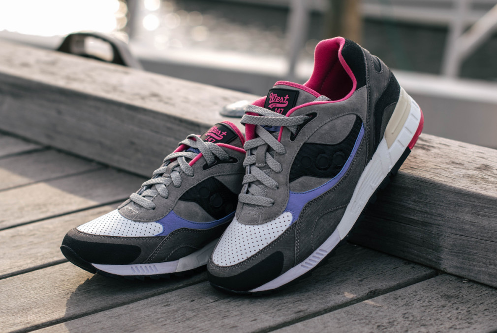 "WEST NYC x Saucony Shadow90""Saltwater"""