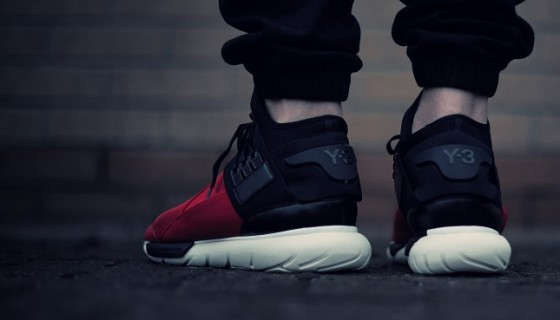 Y-3 Qasa High 'Royal Red/Black'