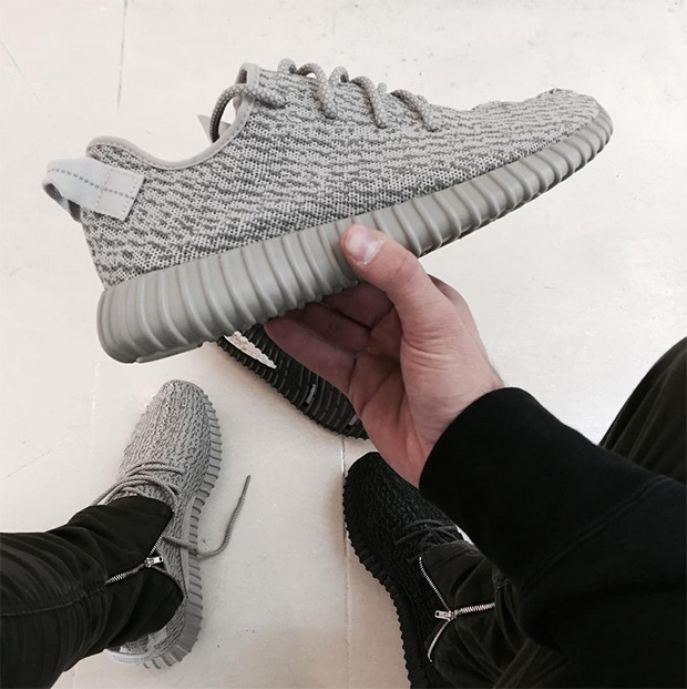 New Adidas Yeezy 350 Boost Moonrock Aq 2660 Mens Size Us 8.5, uk